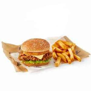 KFC Fillet Tower Meal with fries for £2.99