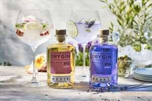 Marks & Spencer Colour Changing Gin in British rose or British Lavender now reduced from £25 to £15 in store @ Marks & Spencer