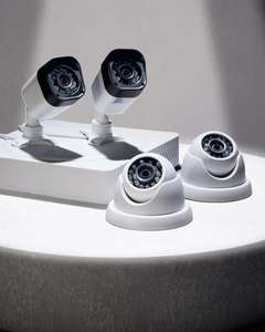 1080P 4 HD Camera Home CCTV Kit @ Aldi for £179.99