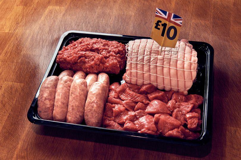 Morrisons 2.13kg British meat box back for National Butchers Week only £10 inc pork loin, sausages, steak mince & diced beef @ Morrisons