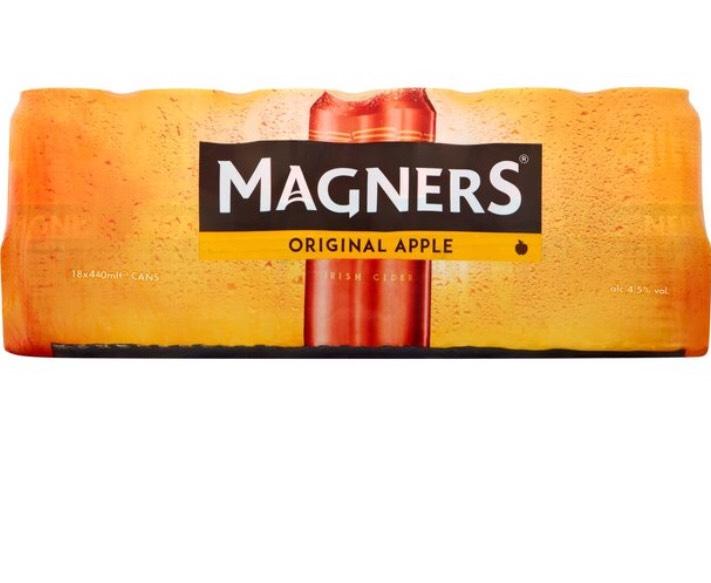 Magners 18 x440ml -£10 @ Morrisons