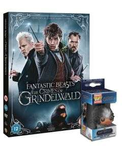 FANTASTIC BEASTS: THE CRIMES OF GRINDELWALD DVD with Free Funko POP keying £9.99 @ Warner Bros Shop