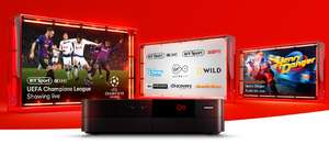 Virgin Vivid 100 Fibre Broadband & Full House TV Bundle - Including BT HDsport. Over 230 channels. £45 pm x 12 Months +  £25 set up = £565