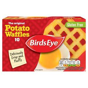 Birds Eye 10 Potato Waffles - £1 Online & Instore @ Morrisons