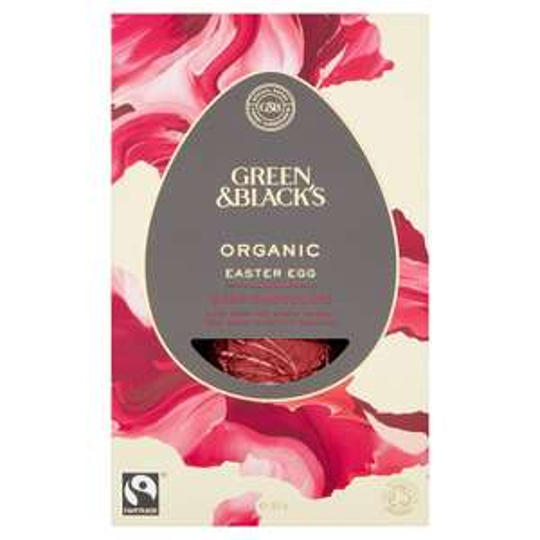 Green & Black's Organic Dark Chocolate Egg 165 g Pack of 4 @ Amazon £11.72 Prime £16.21 Non Prime