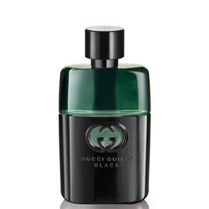 Gucci guilty black 50ml EDT £34.44 with code @ The Fragrance shop