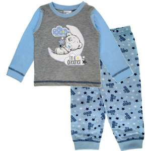 Baby Boys Me to You Long Pyjamas Tatty Teddy Pjs Blue 6 Months to 24 Months @ Ebay pualh8618 £4.59 Delivered