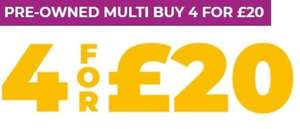 Pre-owned PS4/XO 4 for £20 at GAME