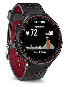 Garmin Forerunner 235 - Smartwatch with GPS In Black/Marsala Red (£145 Fee Free - £155 Without) @ Amazon Spain