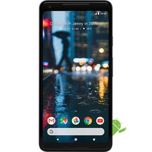 "Grade B Google Pixel 2 XL Just Black 6"" 64GB 4G Unlocked & SIM Free £279.97 Laptops Direct"