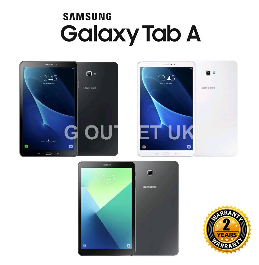"""BRAND NEW SAMSUNG GALAXY TAB A 10.1"""" WIFI TABLET 32GB OCTA CORE BLACK GREY 2018 £149.99 + 2 Year Samsung Warranty @ GUKTRADE2015 Ebay"""