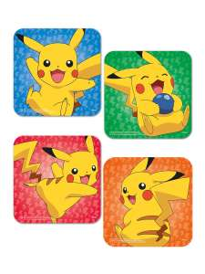 43% off Pokémon Coaster Sets - Pikachu and Pokemon Faces - £3.99 with £1.95 p&p @ Grindstore