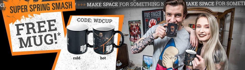 FREE Mug with £25 order on selected range @ EMP