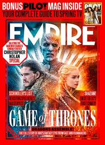 2 years Empire Magazine membership. £2.50 per issue £64.80 @ Great Magzines