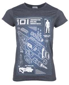 Women's Exclusive Ready Player One Rifle Profile T-Shirt £2.99 @ TruffleShuffle   £2.95 UK Delivery