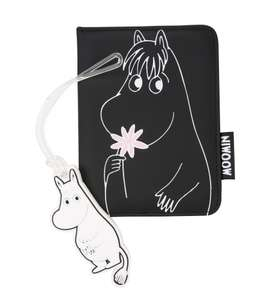 Moomins Passport Holder and Luggage Tag £7.99 @ TruffleShuffle | £2.95 UK Delivery