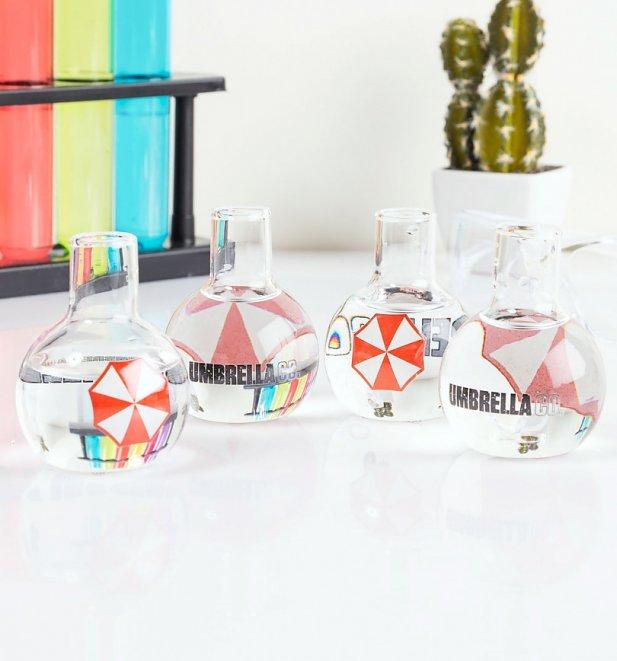 Resident Evil Set Of 4 Mini Glasses £9.99 @ TruffleShuffle | £2.95 UK Delivery
