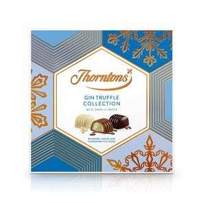 Thornton's Christmas chocolate clearance prices from 50p plus 10% off with code and free gift with £25 spend examples below