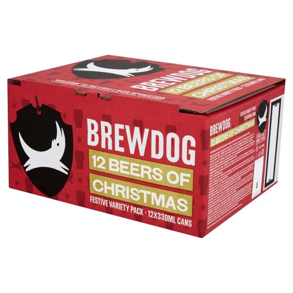 Brewdog 12 beers of Christmas instore at ASDA Doncaster £12