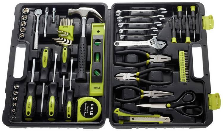 Guild 60 Piece General Tool Kit £23.33 @ Argos
