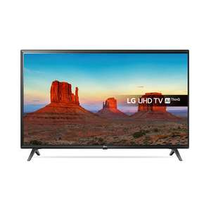 LG 55UK6300PLB 55inch 4K UltraHD HDR Smart LED TV in Black - £389 using code b19b4eac7