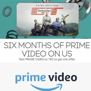 6 months of Amazon Prime Video on EE for FREE