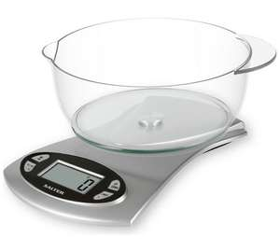 salter kitchen scales with bowl only instore asda. Black Bedroom Furniture Sets. Home Design Ideas