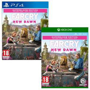 Now Live - Far Cry New Dawn Superbloom Edition [Xbox One / PS4] £29.99 @ Game
