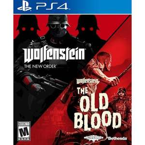 Wolfenstein The New Order and The Old Blood  PS4 Ex-rental £9.99 @ Boomerang