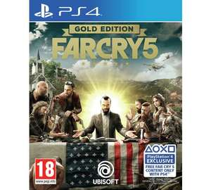 Far Cry 5 Gold Edition PS4 & XB1 £29.99 @ Argos