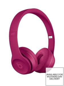 Beats By Dr DreSolo 3 Wireless On-Ear Headphones - Neighbourhood Collection, Brick Red at Very for £129