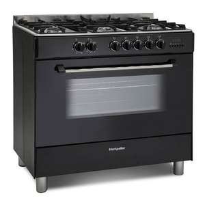Montpellier 90cm Single Cavity Duel Fuel Range Cooker in Black MR91DFMK £289 with code + 2 Year Guarantee @ Co-op Electrical