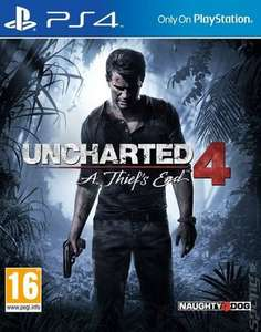 Uncharted 4: A Thief's End PS4 (pre-owned) £6.92 with code Delivered @ MusicMagpie