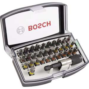 Bosch Screwdriver Bit Set 32 Piece £9.99 FREE DELIVERY when you add 6p item - Toolstation (free C&C)