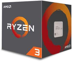 AMD Ryzen 1200 CPU Processor with Wraith Stealth Cooler £61.99 @ Amazon