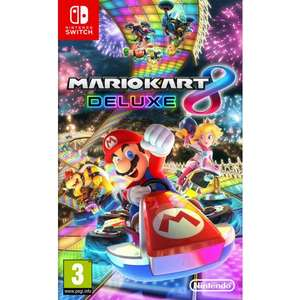 Mario Kart 8 Deluxe for Nintendo Switch £38.95 at The Game Collection
