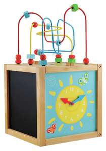 ELC Wooden Activity Cube Large for £16 @ Argos