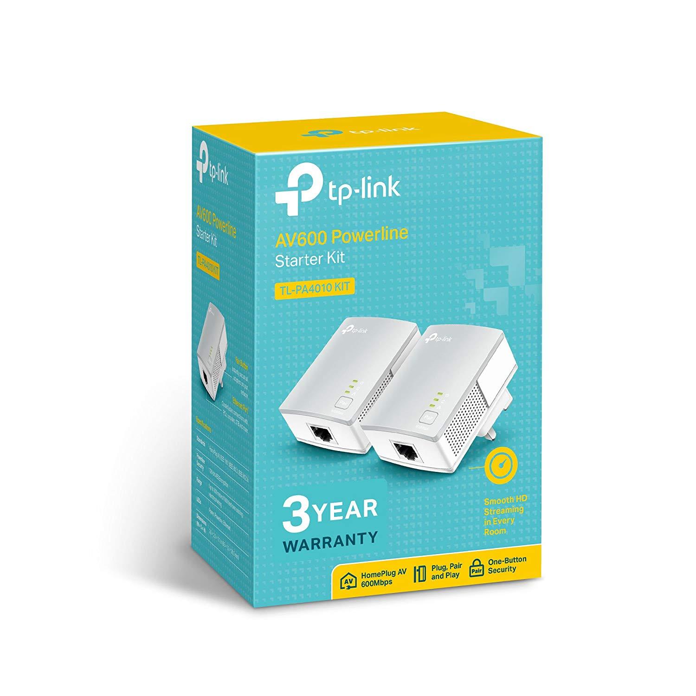 Tp Link AV600 TL-PA4010KIT Nano Powerline Adapter Starter Kit instore at B&M for £1