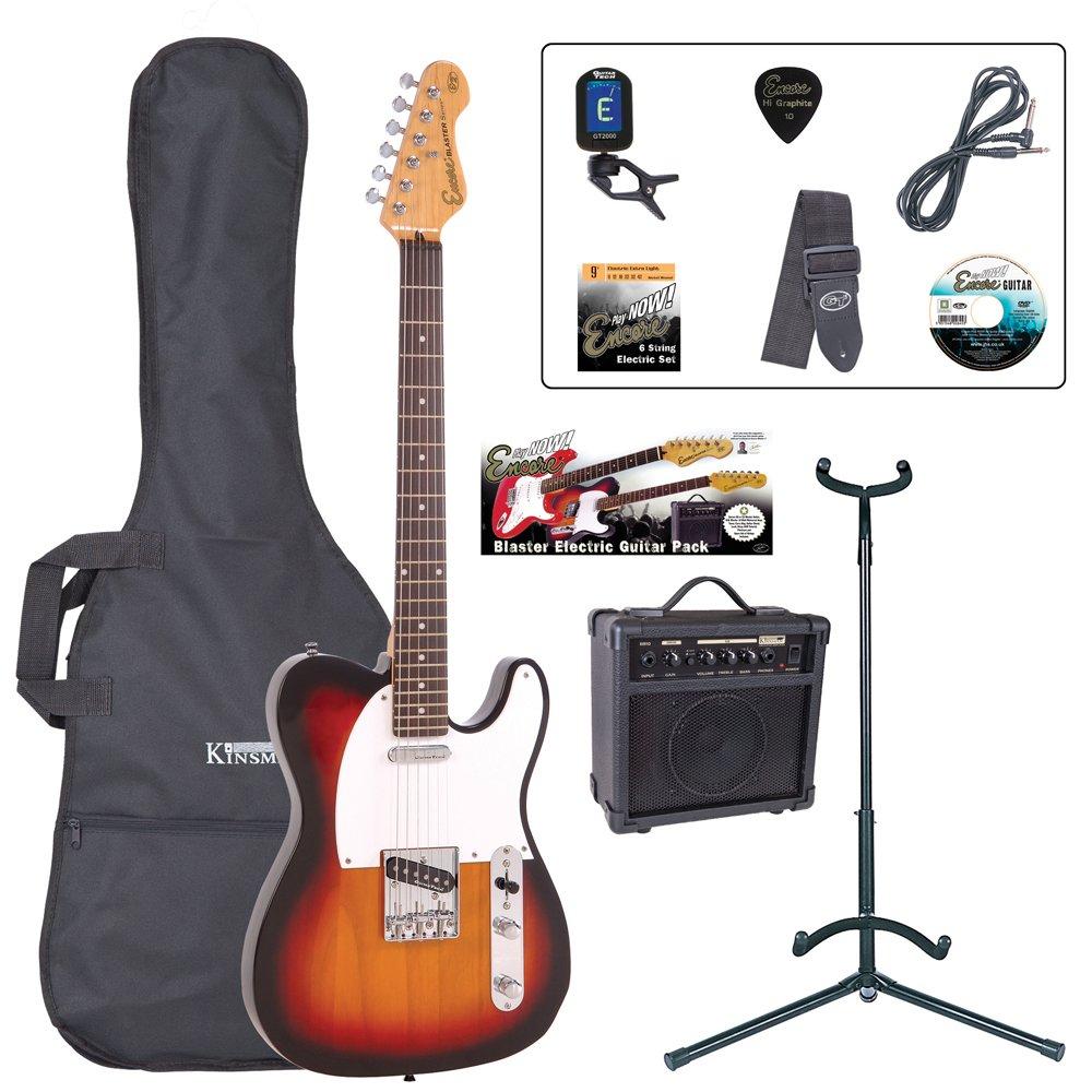 Encore EBP-E2SB Elec. Guitar Outfit - Sunburst £84.47 at Amazon