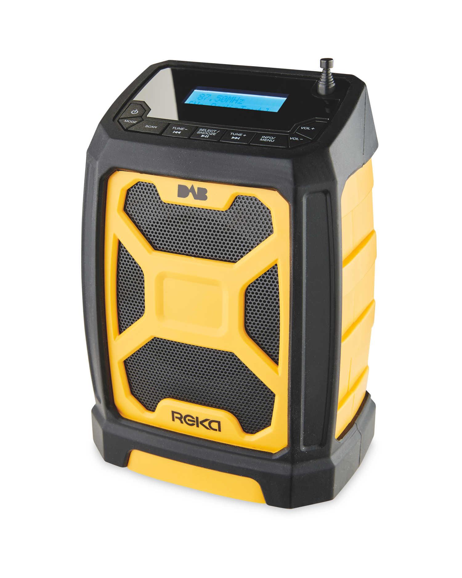 Reka Rugged DAB Radio found at Aldi for £29.99