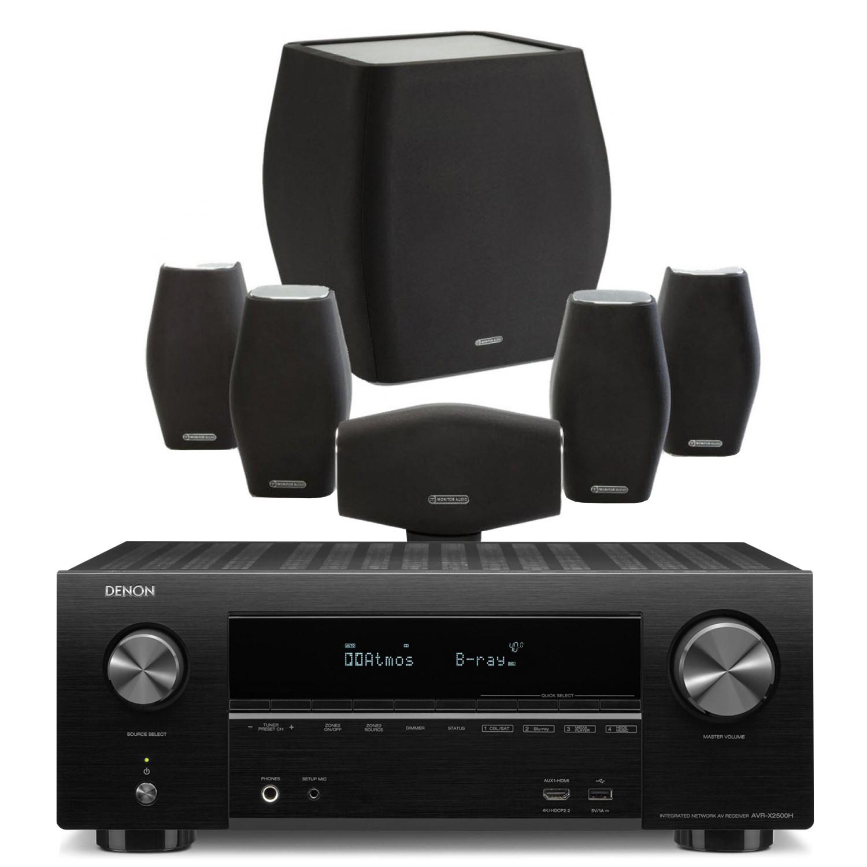 Denon AVR-X2500H AV Receiver with Monitor Audio Mass AV Speakers - Price match Richer Sounds - £769.90 @ Peter Tyson Audio Visual