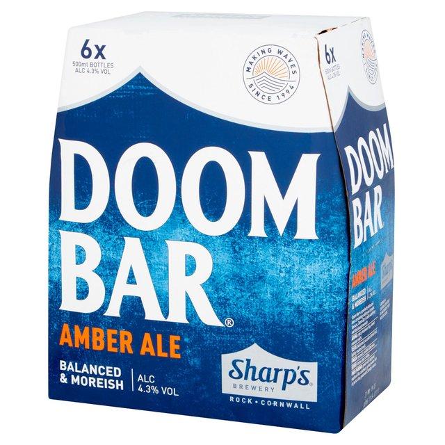 Boxes of ale e.g. Doom Bar - £7 instore @ Asda
