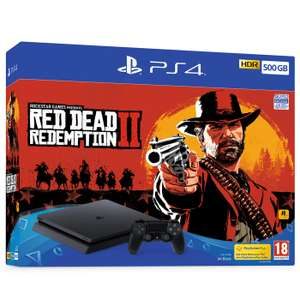 500GB Playstation 4 with Red Dead Redemption 2 + Marvel's Spider-Man + The Last of Us + Ni No Kuni 2 and NOW TV - £259.99 @ GAME