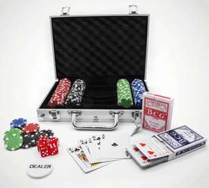 Professional Edition 200 Piece Poker Set £13.49 With Code MARCH10 @ Menkind (Free Click & Collect / £2.99 Delivery)