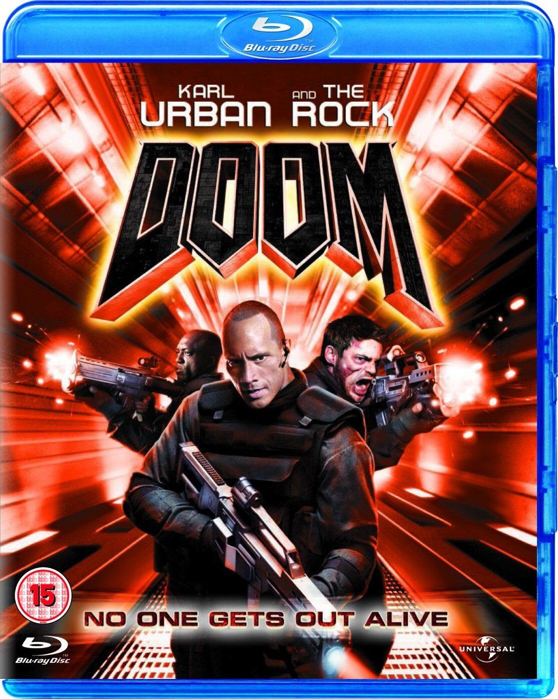 Pre-owned DOOM starring Karl Urban & Dwayne 'The Rock' Johnson. Prequel to Doom Annihilation (2019) £2.50 (£4 Delivered) @ CEX