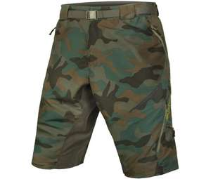 Endura Hummvee Camo II Shorts -with Liner (M-XXL) MTB shorts £30 @ CRC Chain Reaction Cycles