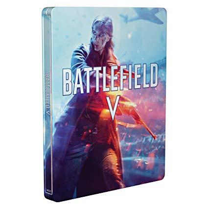 Battlefield V - Steelbook (no game) £5.24 + £2.99 delivery (Non Prime) @ Amazon
