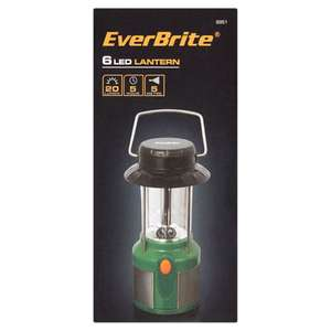 Everbrite 6 LED lantern only 60p at Asda instore Blackpool (poss nw)