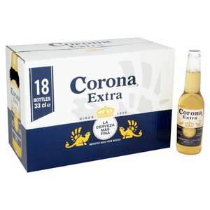 Corona extra - 18 bottles x 330ml - £14.99 in Aldi