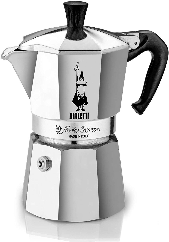 Bialetti Moka Express Espresso Maker, 4 Cup £20.99 @ Amazon